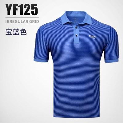 高爾夫男款上衣 男士短袖T恤夏季男裝球衣
