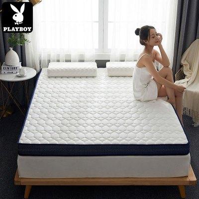 花花公子(PLAYBOY) 2020新款床墊春夏新款翠玉能量絨針織抗菌床墊學生宿舍床墊軟墊上下鋪地鋪睡墊纖維床褥子