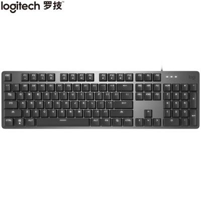 促銷500只【旗艦店】羅技 K845 機械鍵盤 有線鍵盤 辦公鍵盤 全尺寸 單光 黑色 紅軸