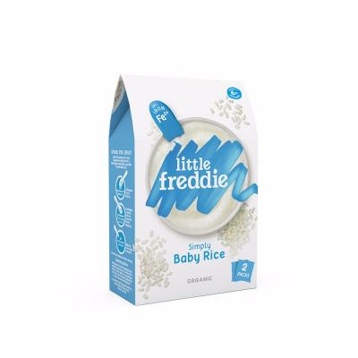 Little freddie小皮嬰幼兒原味大米米粉160g /盒