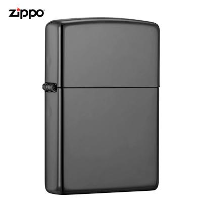 zippo之寶打火機美國原裝ZIPPO防風煤油打火機150黑冰150-045520