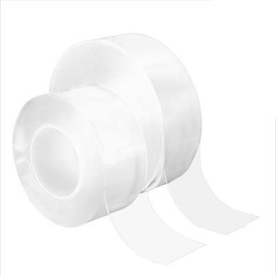 抖音同款雙面納米膠帶3米長隨手貼透明膠布1mm厚3CM寬