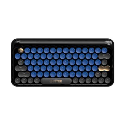 國際米蘭INTER UFFICIO 官方授權LOFREE洛斐原創設計鍵盤手機筆記本電腦無線藍牙機械鍵盤青軸