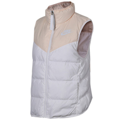 耐克(NIKE)女子羽绒马甲两面穿AS W NSW WR DWN FILL VEST REV 939443-838