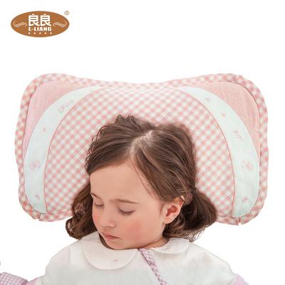 良良 嬰兒定型枕 0-1-5歲防多汗兒童苧麻防夜啼枕頭寶寶枕幼兒床上用品