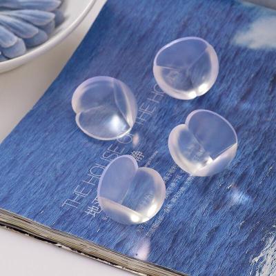 嬰幼兒安全防撞角防護桌角保護套寶寶透明桌子護角包角8只兩盒裝桌角防撞護角圓球角配3M膠十個裝