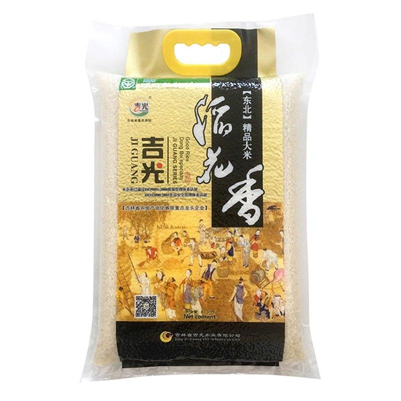 【苏宁超市】吉光 2019新米 鲜米 稻花香大米 5kg/袋 东北大米 新米粳米 大米 长粒米 密封包装 大米5kg