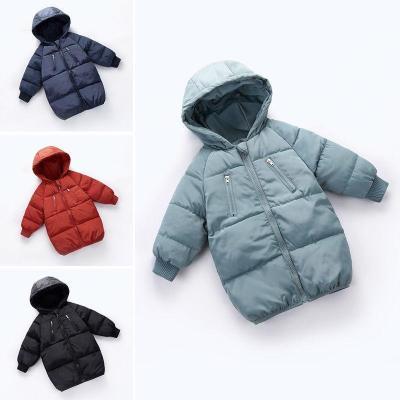 童装冬季宝宝反季棉服儿童中长款棉衣男女童保暖棉袄中小童棉外套 诺妮梦