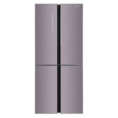 (99新)海信(Hisense)451升BCD-451WTDGVBP 十字對開門食神冰箱變頻風冷無霜家用電冰箱