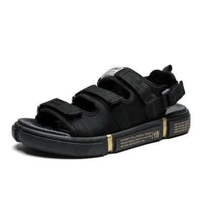 沐風草夏季沙灘鞋海邊拖鞋初高中學生厚底悟道情侶涼鞋16歲15青少年鞋子外穿羅馬鞋9702