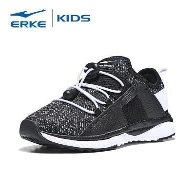鴻星爾克(ERKE)童鞋兒童運動鞋大童男童慢跑鞋