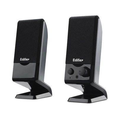 漫步者(EDIFIER) R10U USB2.0筆記本迷你便攜小音響 臺式電腦音箱 黑色
