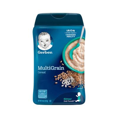 嘉宝(Gerber)混合谷物米粉 2段 227克/罐装 原装进口 6个月以上