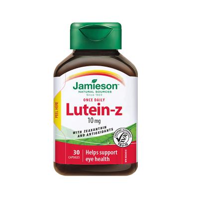 【緩解視疲勞】jamieson 健美生 葉黃素軟膠囊 30粒/瓶 加拿大進口 50克
