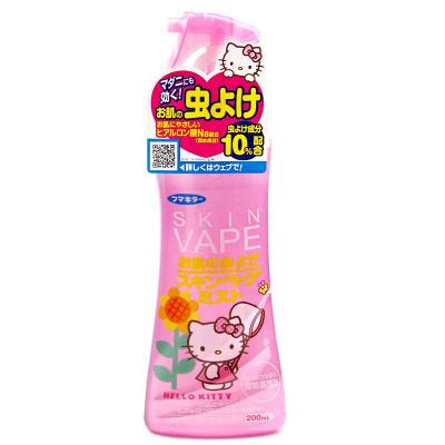 未來vape驅蚊噴霧200ml 蜜桃味 寶寶嬰兒花露水防蚊噴霧 驅蚊水防止瘙癢戶外家中必備 日本進口防蚊露
