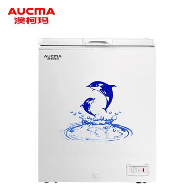 澳柯瑪(Aucma) BC/BD-149SN 149升 冰柜家用小型冷柜/冰吧 冷藏冷凍轉換 頂開門迷你單溫臥式(白)