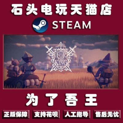 PC中文正版Steam For The King 為了國王 為了吾王 策略 回合制戰斗 角色扮演類游戲