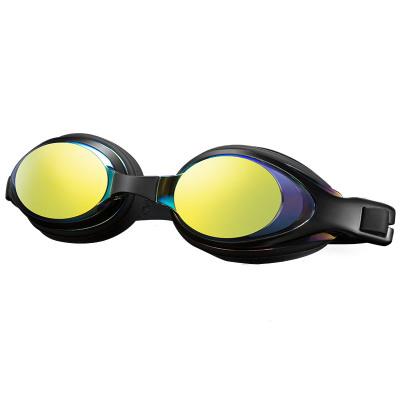 李寧 LI-NING泳鏡 男女款高清防霧平光/近視鍍膜游泳鏡 男電鍍游泳眼鏡597