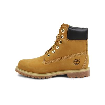 Timberland添柏嵐PREMIUM戶外踢不爛防水牛皮橡膠底女版經典6英寸大黃靴女鞋女靴 靴子 女10361 W寬楦