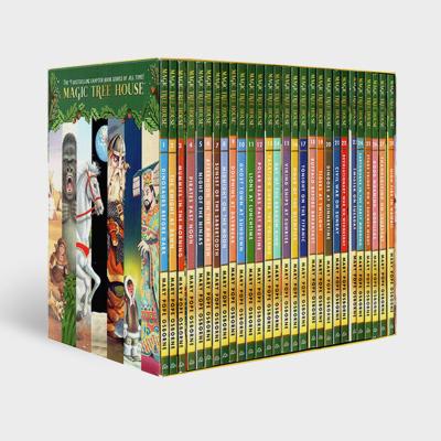 The Magic Tree House 1-28 神奇樹屋英文原版小說橋梁書課外有聲讀物 正版全套 7-10歲兒童