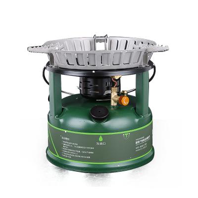 兄弟BRS-7一体式大功率油炉 户外柴油炉 便携野炊汽油炉 自驾游炉具