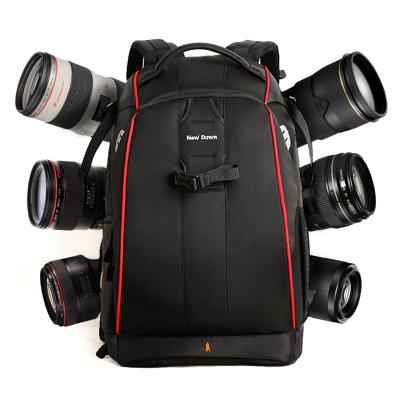 New Dawn 專業單反相機包 雙肩攝影包 單反包防盜數碼背包 五代大號