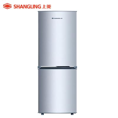 上菱(shangling) BCD-183D 183升双门冰箱 快速制冷 优质压缩机静音节能 小冰箱 两门家用冰箱