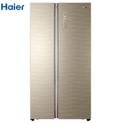 【99新】 海爾(Haier)BCD-531WDGZ 家用對開門 變頻 風冷無霜大容量531升電冰箱彩晶玻璃