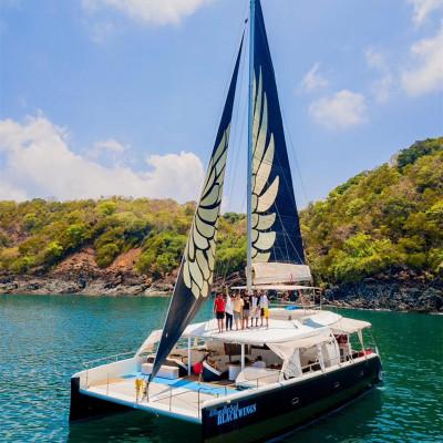 【618鉅惠】深圳新雙體帆船游艇移動的海上城堡全程舒適體驗租賃1小時買2送1