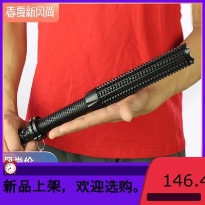 LED多功能戶外強光手電筒遠射家用防身武器狼牙棒棒球棍充電手電商品有多個顏色,尺碼,規格,拍下請備注規格或聯系客服