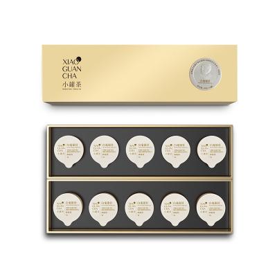 小罐茶金罐特级白茶 白毫银针茶叶礼盒装40g 送礼佳品年货礼盒