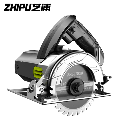 芝浦(ZHIPU)切割機家用小型大功率多功能手提瓷磚石材金屬木材開槽云石機電鋸 專業款3680AW多鋸片