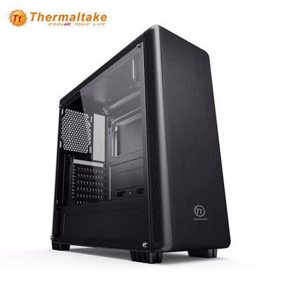 Tt機箱 途騰T5 黑色 ATX中塔機箱 背線側透水冷電腦機箱