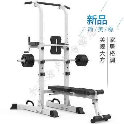 閃電客引體向上器單雙杠家用室內單杠臥推架單雙杠訓練機多功能健身器材