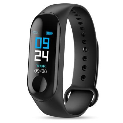 UVR新款智能手环彩屏心率血压检测信息提示防水情侣时尚运动计步智能运动手环