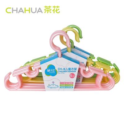 茶花CH-B儿童衣架(1X5)0728卡通衣架