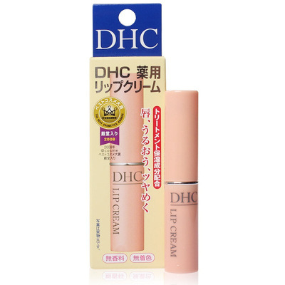 DHC橄欖護潤唇膏1.5g/支 打底潤唇膏修護保濕滋潤補水防干裂改善唇紋