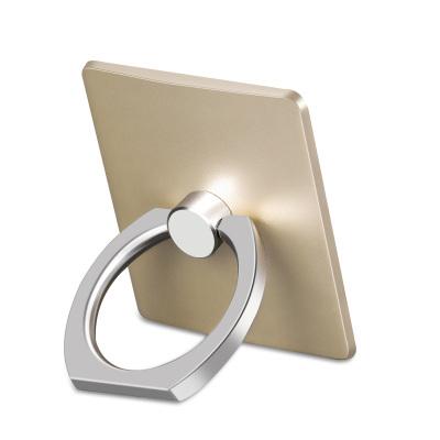 【買2送1】輕萬vivox21手機殼支架桌面直播方形金色小米6x手機架懶人指環扣拍照金屬環華為p20手機座