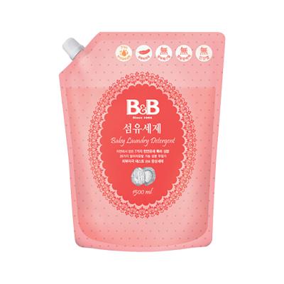B&B 保寧 嬰兒天然抗菌洗衣液補充裝1500ml