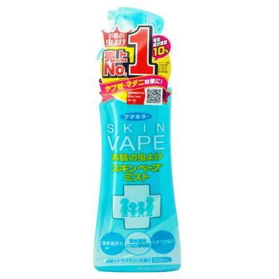 【買三增一】日本VAPE未來驅蚊噴霧防蚊水叮咬清爽柑橘味無感驅蚊孕嬰200ml(綠色裝1瓶)
