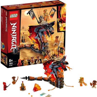 LEGO樂高 Ninjago幻影忍者系列 烈焰威龍70674 積木玩具