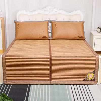 夏季涼席竹席1.8m床雙面折疊1.5米1.2學生宿舍單人席子0.8m可定做花睡神