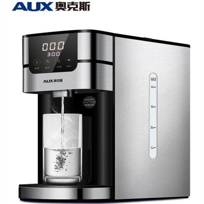 AUX/奥克斯HX-8670电热水瓶电水壶烧水壶上水壶即热式全自动台式家用过滤带滤芯速热快烧多档调温智能煮水4L黄金容量