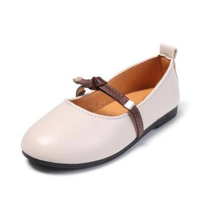 莎丞 童鞋女童公主鞋2019新款韓版小女孩奶奶皮鞋秋季豆豆兒童春秋單鞋