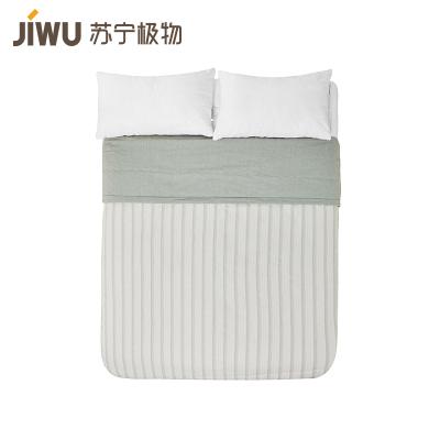 蘇寧極物 全棉色織清新 夏季纖維空調被夏涼被