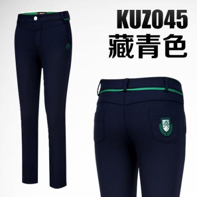 加絨高爾夫褲子 女士休閑長褲 保暖高爾夫運動球褲