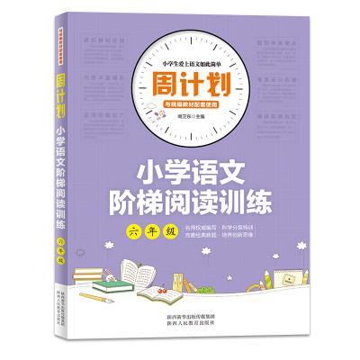 周計劃*小學語文階梯閱讀訓練6年級六年級語文同步專項訓練