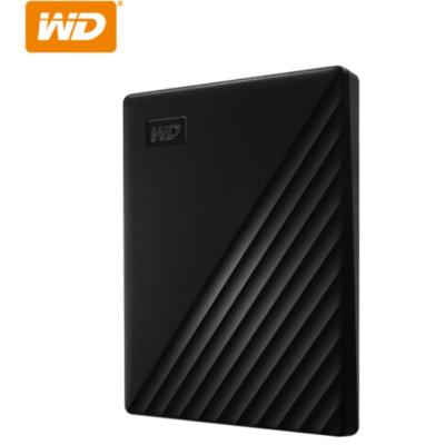 西部數據(WD)4TB USB3.0移動硬盤My Passport隨行版 2.5英寸 黑色WDBPKJ0040BBK