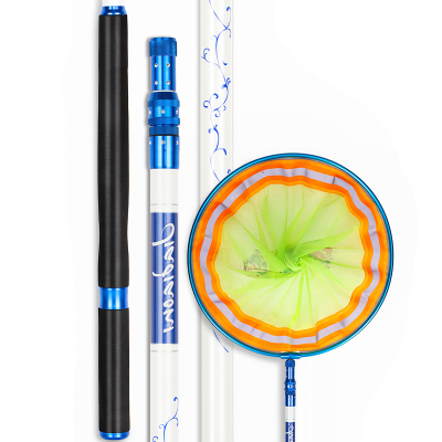 佳釣尼(JIADIAONI)無二抄網碳素抄網竿超硬超輕撈魚網抄抄魚用品3米