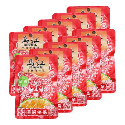 烏江 清香清淡榨菜80g*10袋